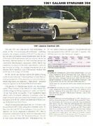 1961 Galaxie Starliner 390 Article 2 - Must See