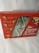 """Vtg Merry Glow Round """"the Ringing Bells Of Christmas"""" Tested Works"""
