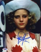 Jodie Foster Taxi Driver Autographed Signed 8x10 Photo Certified Psa/dna Coa