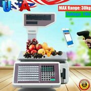 New Double-sided Display Electronic Scale Commercial Food Scale Max Range 30kg