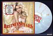Britney Spears Circus Lp On Splatter Vinyl New Sealed Colored Exclusive Gold