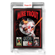 Topps Project 70 Card 410 - 2011 Mike Trout By Dj Skee -presale-