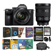Sony Alpha A7 Iii Full Frame Mirrorless Camera W/ 28-70mm And 24-105mm Lens Bundle