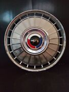 4 - 1962 Ford Fairlane Galaxie Hubcaps With Center Caps Vintage Classic
