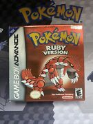 Pokemon Ruby Version Complete Cib - Authentic, Dry Battery