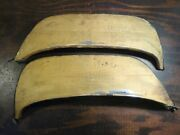 Pair Nos 1961 62 Pontiac Stainless Fender Skirts Pos-61 All Exc. Tempest Sk717