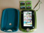 Leapfrog Leappad 2 System Tablet With Five Games No Charger Olivia Brave Dory...