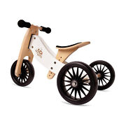 Kinderfeets Tiny Tot Plus Toddler Balance Bike And Tricycle White For Parts