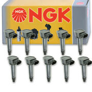10 Pcs Ngk 48847 Ignition Coil For U5171 Uf589 Ic669 E1089 84150503 Gn10519 Fd