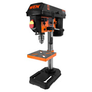 Portable Drill Press 2.3 Amp 8 In. Lock-out Power Switch Chuck Key Storage