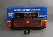 Usa Trains 12154 G Scale Boston And Maine Center Cupola Caboose - Metal Wheels/box