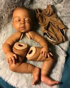 Reborn Big Baby Painted Kit. Makes A 23in. Doll Gorgeous Painted Kit
