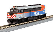 Kato 1769106dcc N Metra Emd F40ph Diesel Locomotive With Ditch Lights And Dcc 181