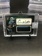 Cam Newton Rc Auto Ssp 22/50 Relic Swatch Rookie Card Pats Qb Patriots Panthers