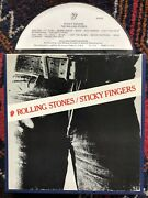 The Rolling Stones Sticky Fingers 7.5ips Reel To Reel Tape Very Rare Tested