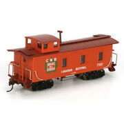 Roundhouse 84383 Ho Rtr Cn 30' 3-window Caboose 77122 Ln/box