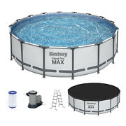 Bestway Steel Pro Max 16x4 Ft Above Ground Round Pool Set For Parts