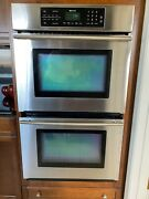 Jenn-air Jjw8430dds 30andprime Electric Double Wall Oven