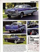 1957 Dodge Article - Must See Coronet Lancer D-500 + Convertible + Pickup Truck