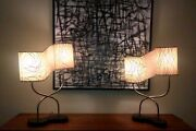 Pair 1950and039s Retro Majestic Lamps Vintage