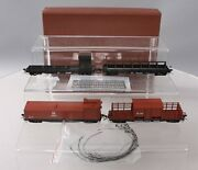 W And R Ho Brass Northern Pacific Mow 4-car Set Painted Ln/box