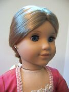 American Girl Elizabeth Doll With Outfit Book And Trading Cards