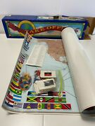 Vintage Take Off Game Teaches Geography World Edition Home School Maps