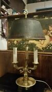 1800 Candle Conversion Antique Bouillotte French Lamp Inspired By King Louis Xvi