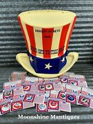Vintage American Oil Company Gas Pump Topper - Hats Off To The Past Sweepstakes