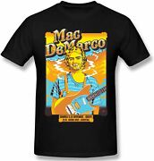 Menand039s Mac Demarco Casual Top Short Sleeves Tshirts For Mens