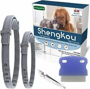 Flea And Tick Collar For Dog Made With Natural Plant Based Essential Oil Safe