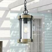 Untrammelife Outdoor Pendant Lights 14and039and039 Outside Hanging Porch Light Fixture ...