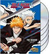 Bleach Uncut Box Set, Vol. 3 The Rescue W/ Limited Collector's Hollow Mask, New