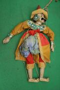 Antique Myanmar/burmese Marionette String Puppet Nicely Decorated 63cm