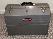 Vintage Craftsman 6536 Tombstone Metal Tool Box Cantilever - Great Shape