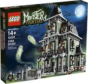 Lego Haunted House 10228 Monster Fighters 2012 Missing Some Roof Tiles No Box