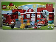 Lego 10593 Duplo Fire Station - Sealed - Very Rare - See Pictures -