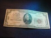 1929 20 Pennsylvania Natand039l Bank And Trust Of Pottsville Pa National Note 7