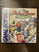 1x Monster Rancher Explorer Nintendo Game Boy Color Sealed From Shipping Case