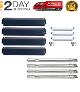 Commercial Series 4 Plates Gas Grill Burner Char-broil Replacement Parts Kit New