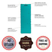 Astro Inflatable Soft Plush Sleeping Pad Mattress Mat Air Bed Camping Outdoor Au