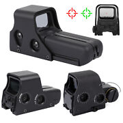 Tactical Holographic Red Green Dot Reflex Sight Optic For Picatinny Rail 552 558