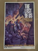 Last Of Us American Dreams Signed Pax Poster Print Lithograph Part 2 Ii Ellie