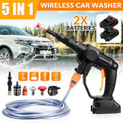 High Pressure Cleaner Car Washer Spray Cordless Water Sprayer Cleaning