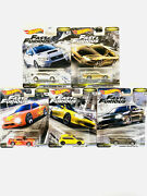 2020 Hot Wheels Fast And Furious Fast Tuners Set Of 5 Cars Premium Diecast 1/64