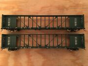 Ho Walthers Lot Of 2 Canadian Pacific 72andrsquo Center Beam Flat Car Cp Ns Csx Bnsf Cn