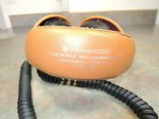 Rare Kenwood Kh-71 Stereo Headphones 8 Ohm Vintage 1970s 70s Sound Great