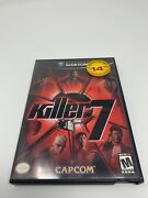 Killer 7 With Case And Manual - Nintendo Gamecube Tested And Working - Canadian