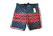 """Nwt O'neill Mens Board Surf Shorts Swimsuit Size 32 Outseam 19"""" Allegiance"""
