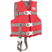 3000004470 Stearns Classic Series Child Life Vest 30-50lbs Red